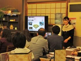 川久保先生による座学。ちなみに漆は英語で「Japan」というそうです。私も勉強になりました!