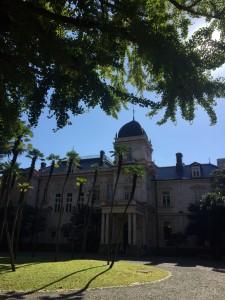 今日の旧岩崎邸