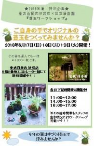 NEW【東武池袋展】開店情報ビラ付属シート