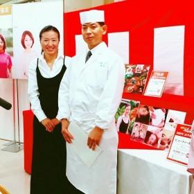 山田香織先生と料理長様!